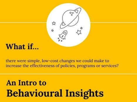 An intro to behavioural insights