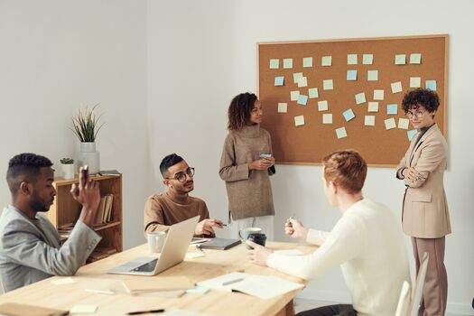 Product managers align and empower product team and stakeholders on creating products that solve a problem, have a high level of impact on users and are feasible to build and deliver within a relevant frame of time.