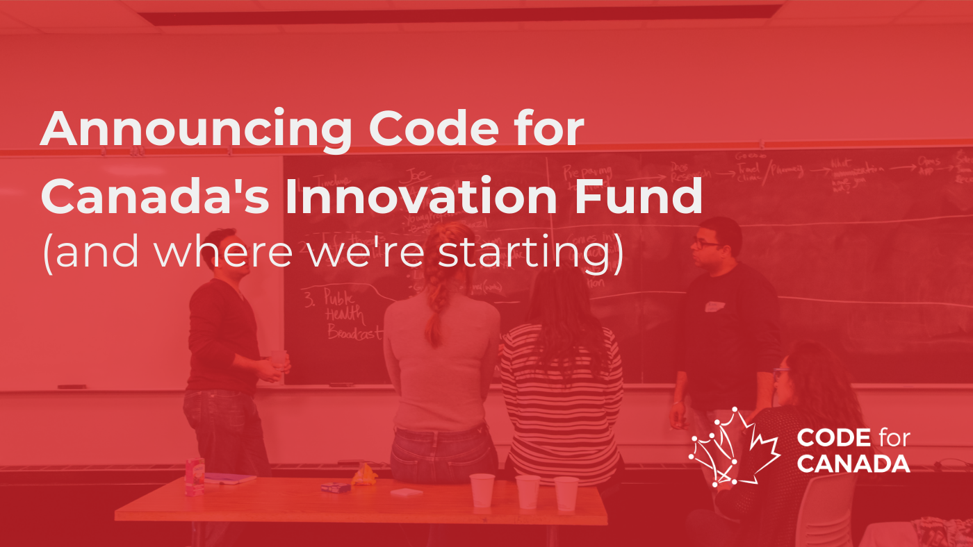 Our plan to support Truth and Reconciliation through civic tech collaboration